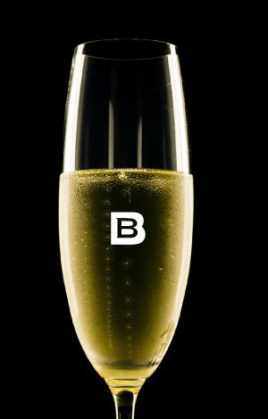 LA BULLE et LE BRUT, étiquette de Vin