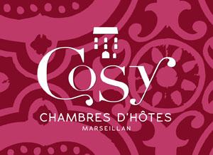 CHAMBRES D'HOTES COSY, IDENTITE VISUELLE