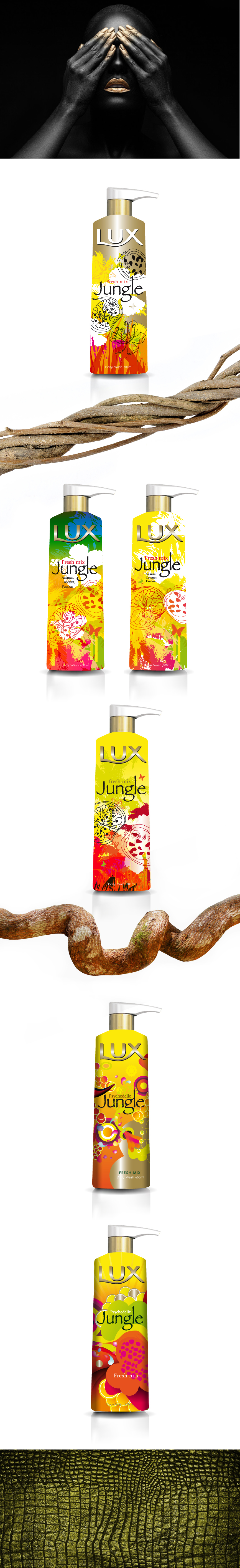 Page luxe jungle