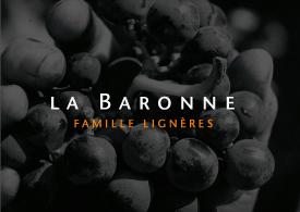LA BARONNE, FAMILLE LIGNIERE, ETIQUETTE DE VIN