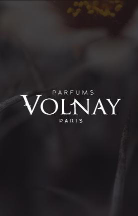 PARFUMS VOLNAY , IDENTITE VISUELLE
